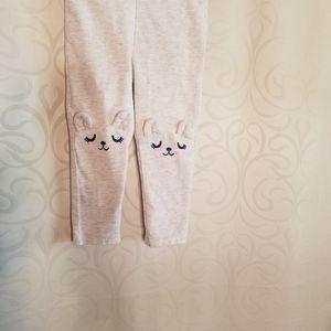 EUC Cat and Jack Bunny Pants